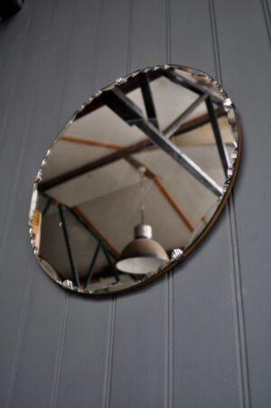 British Frameless Mirror