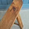French fruitwood benches