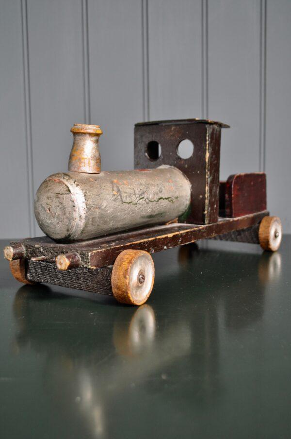 Vintage wooden train