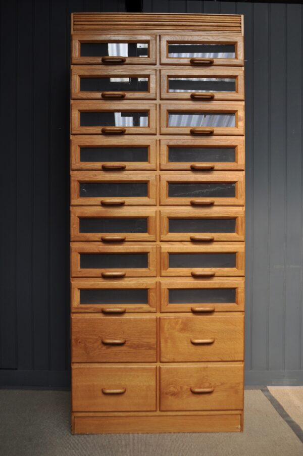 Oak outfitter's cabinet