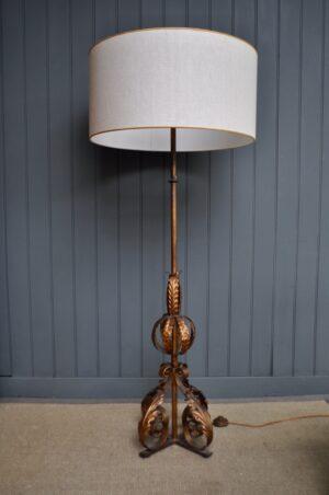 Spanish floor lamp