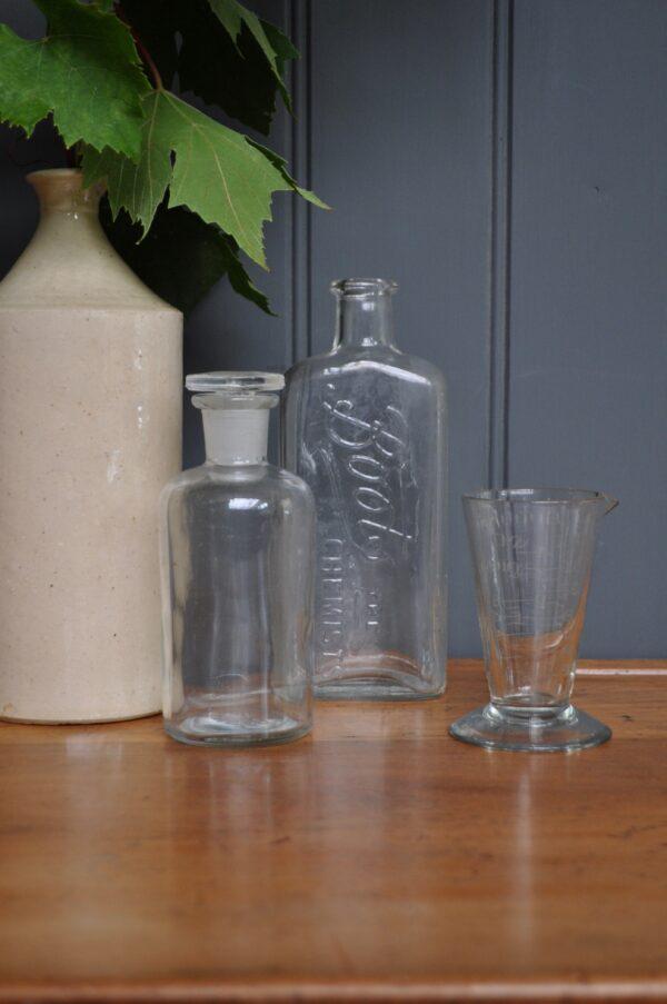 Vintage glass vessels